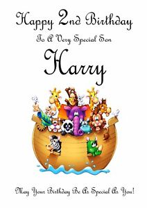 Brother clipart nephew. Personalised birthday son grandson