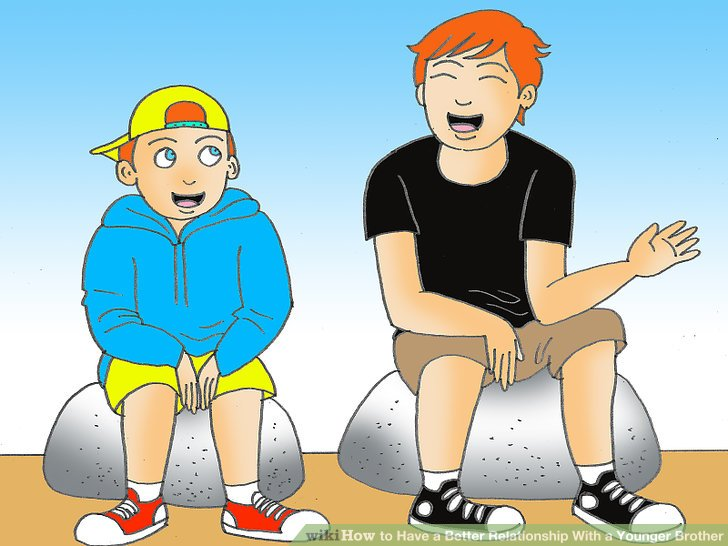How to have a. Brothers clipart old brother