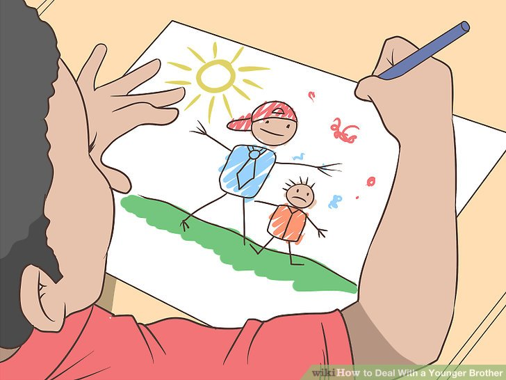 Brothers clipart old brother.  ways to deal