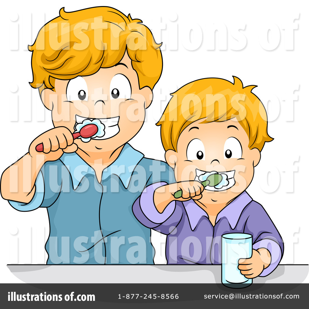 Brother illustration by bnp. Brothers clipart person