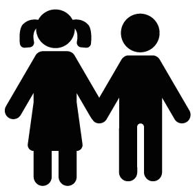 Sister at getdrawings com. Brother clipart silhouette