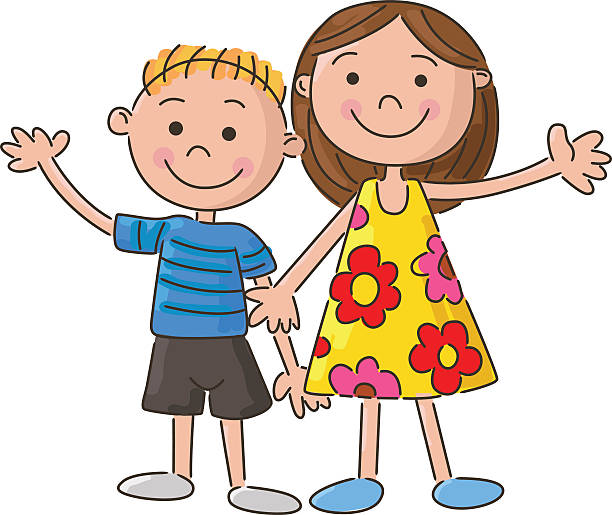 Brother station free clip. Brothers clipart sister