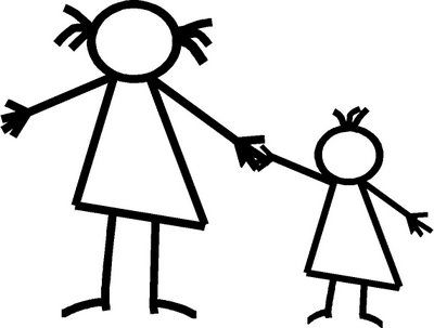 Brothers clipart stick figure. Mother dfiles tattoo pinterest