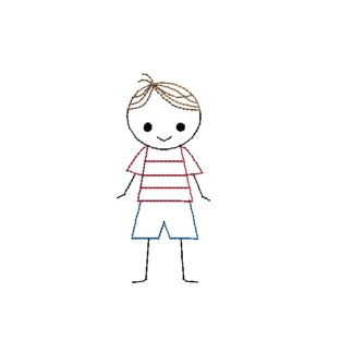 Brother archives . Brothers clipart stick figure