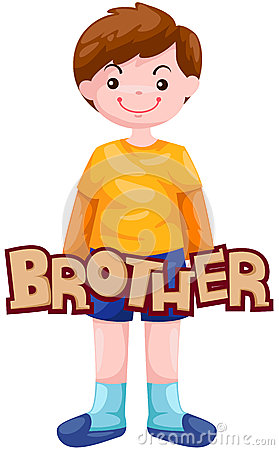 collection of brother. Brothers clipart student