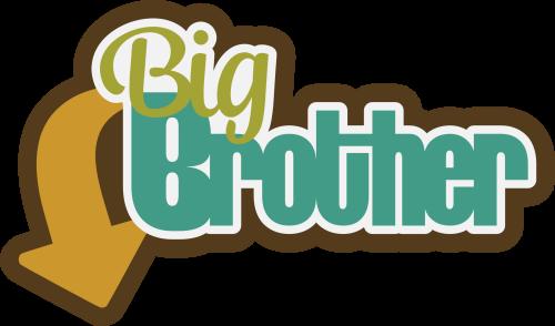 Pp bigbrother png big. Brother clipart transparent