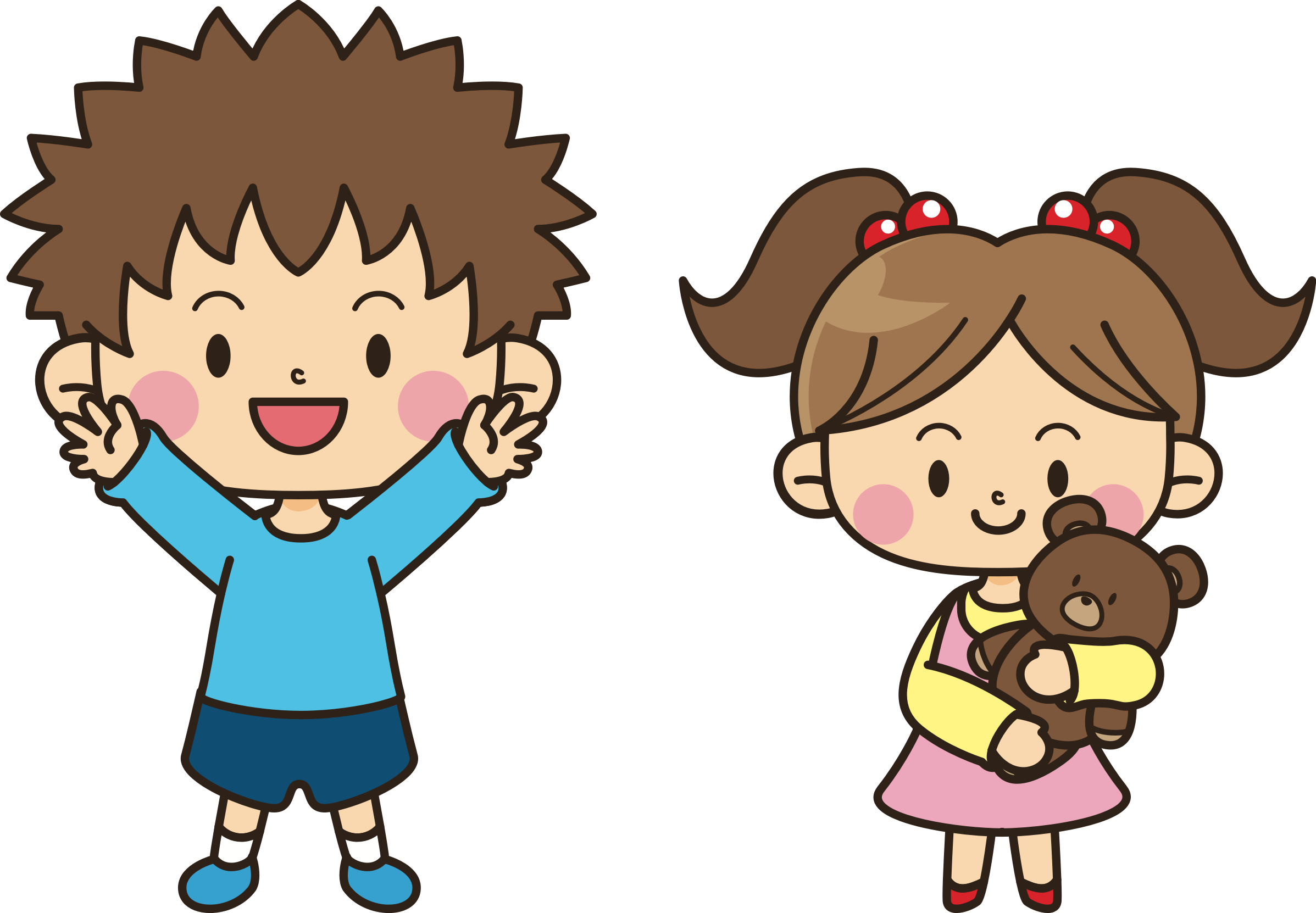 collection of brother. Young clipart sister