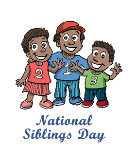 beautiful national siblings. Brothers clipart