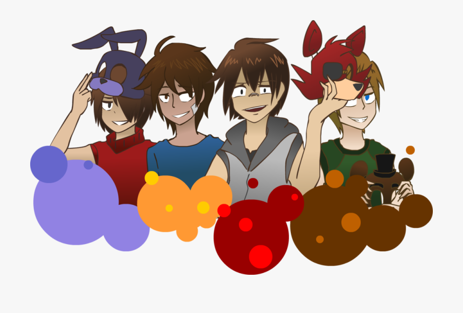 Friend fnaf brother friends. Brothers clipart 4 brothers