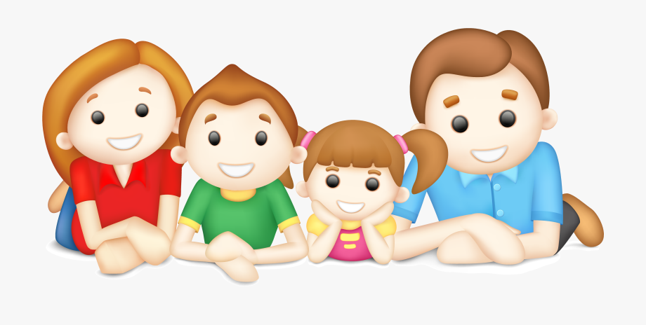 Brothers clipart animated. Families happy family and