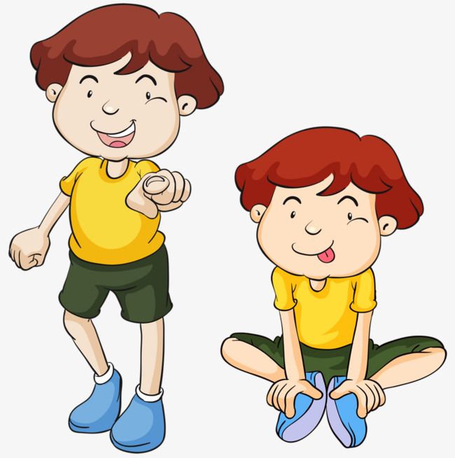 Twin boys boy png. Brothers clipart animated