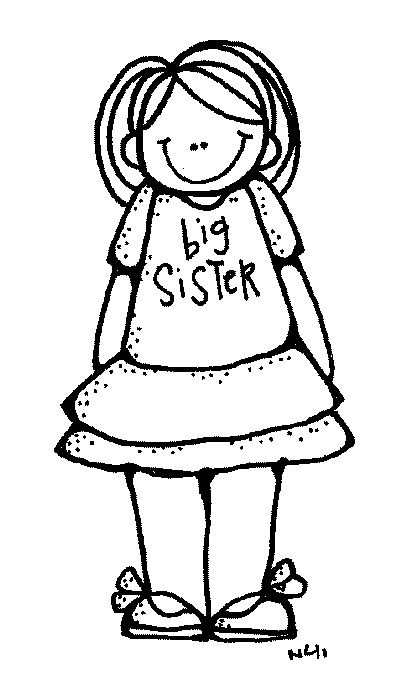 Melonheadz big brother sister. Brothers clipart black and white