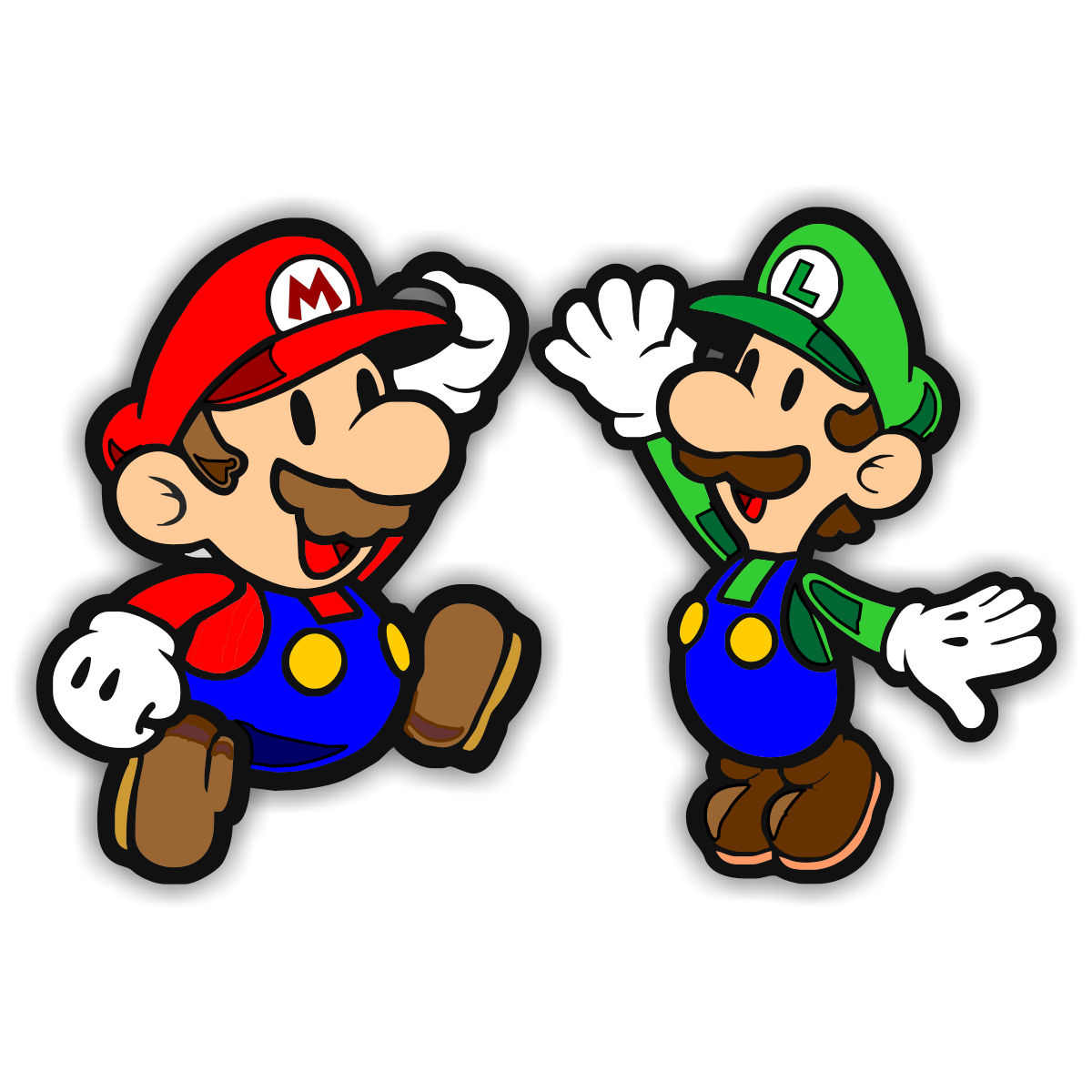 Bros clip art free. Mario clipart