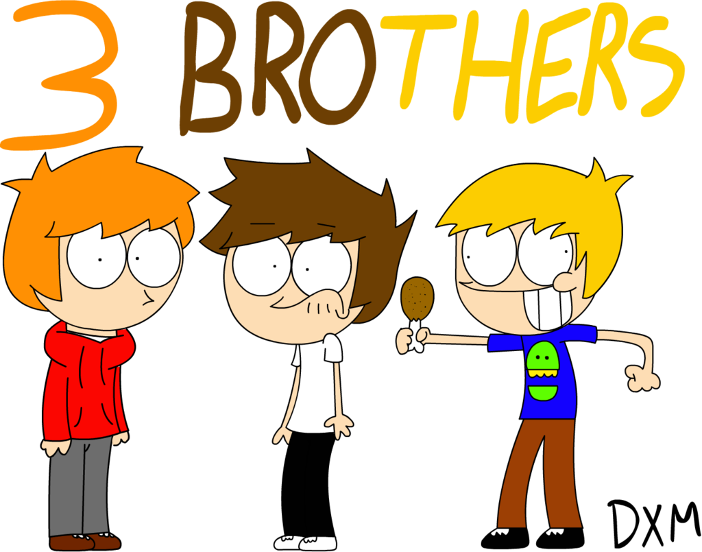 Brothers clipart cartoon. Hd free download