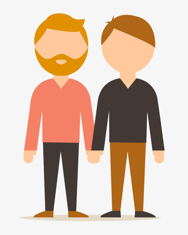 Character design png image. Brothers clipart cartoon