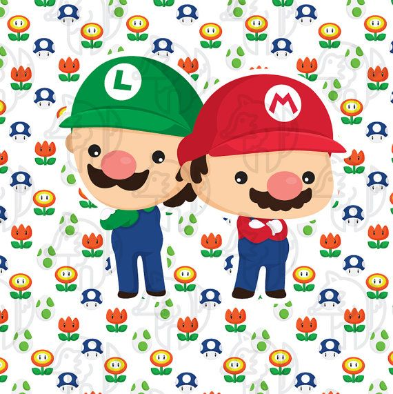 Game brother digital clip. Brothers clipart cute