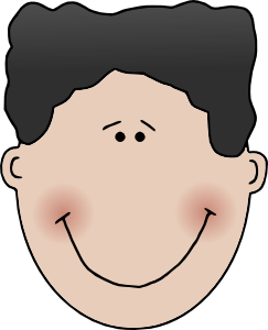 Boy clip art at. Brothers clipart face