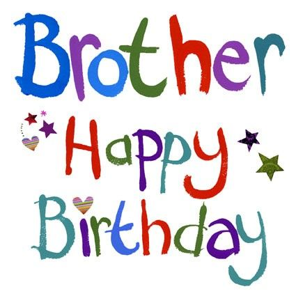 Brothers clipart happy birthday. Brother jpg bro n