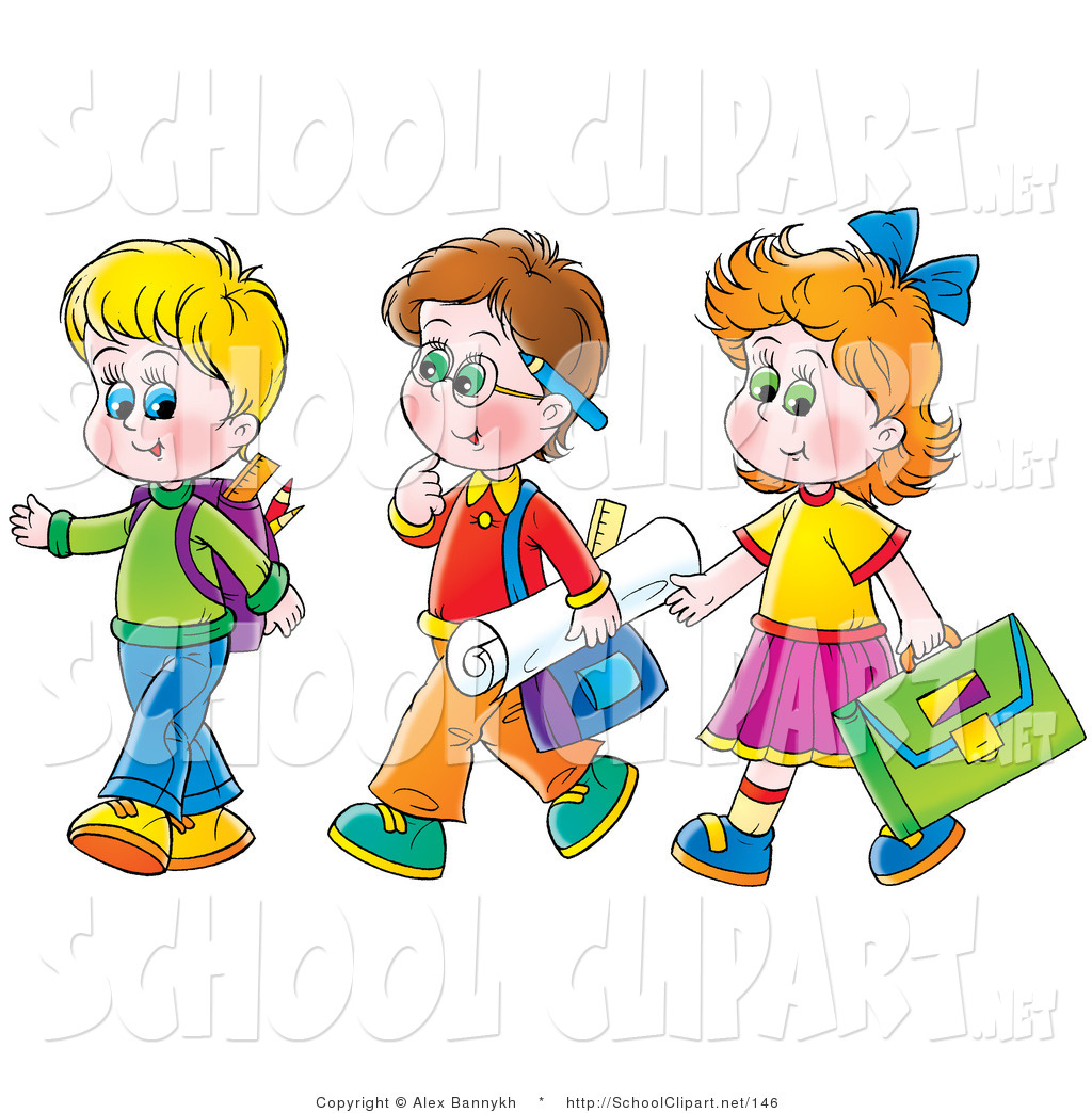 Brothers clipart kid. Royalty free stock school