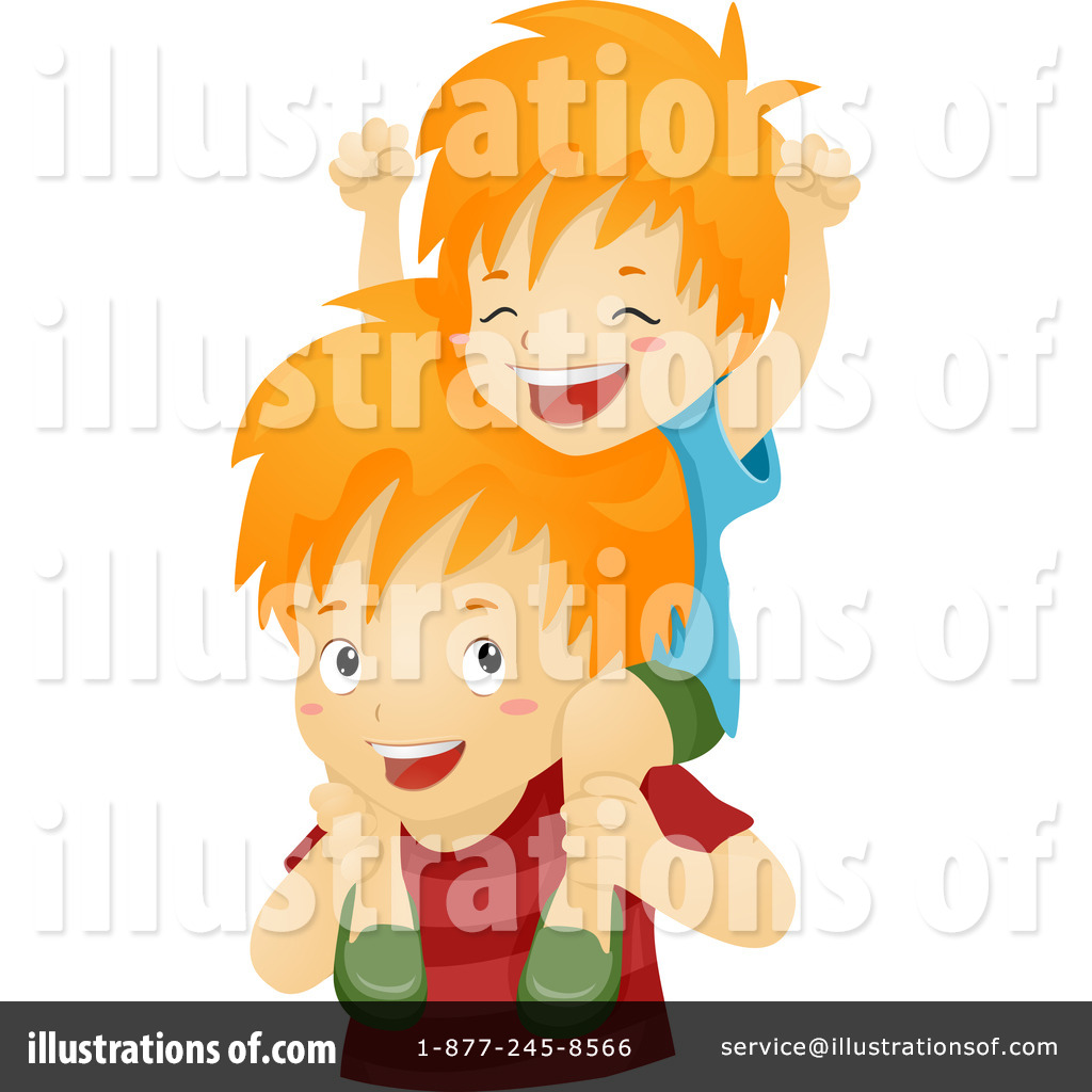 Brothers clipart little brother. Younger royalty free rf
