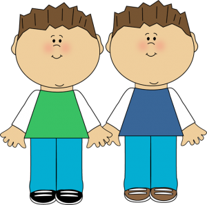 Clip art twin panda. Brothers clipart person
