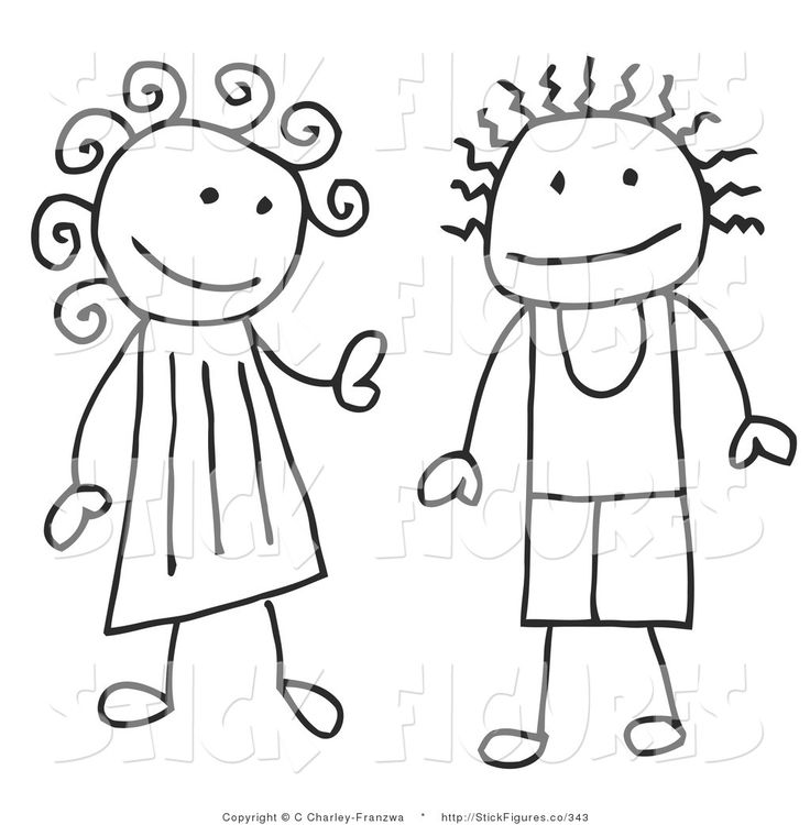 best pictures for. Brothers clipart stick figure