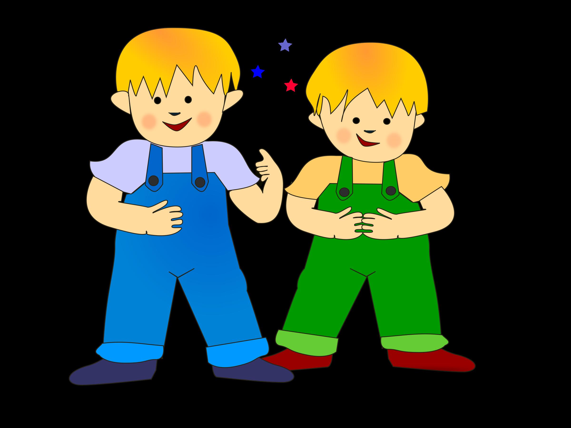 Sweet kids big image. Brothers clipart transparent