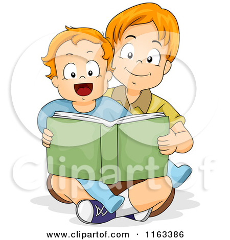 Brothers clip art black. Brother clipart student