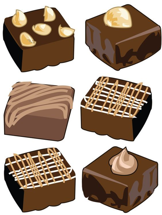 Brownies clip art clipartfest. Brownie clipart