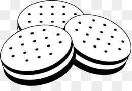 Brownie clipart black and white. Free download cookie chocolate