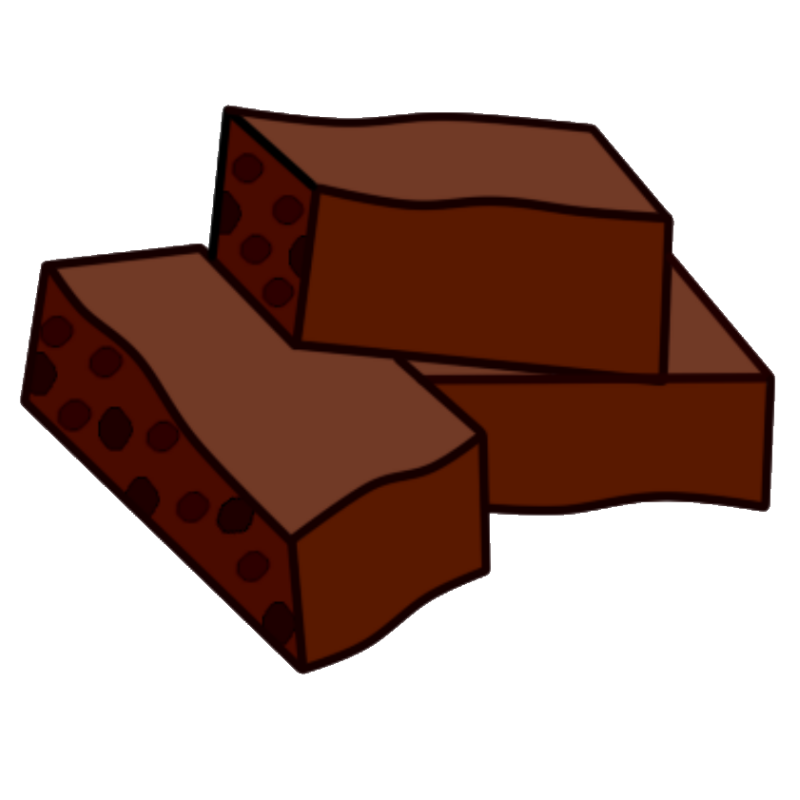 Brownie clipart choclate. Box of chocolate free