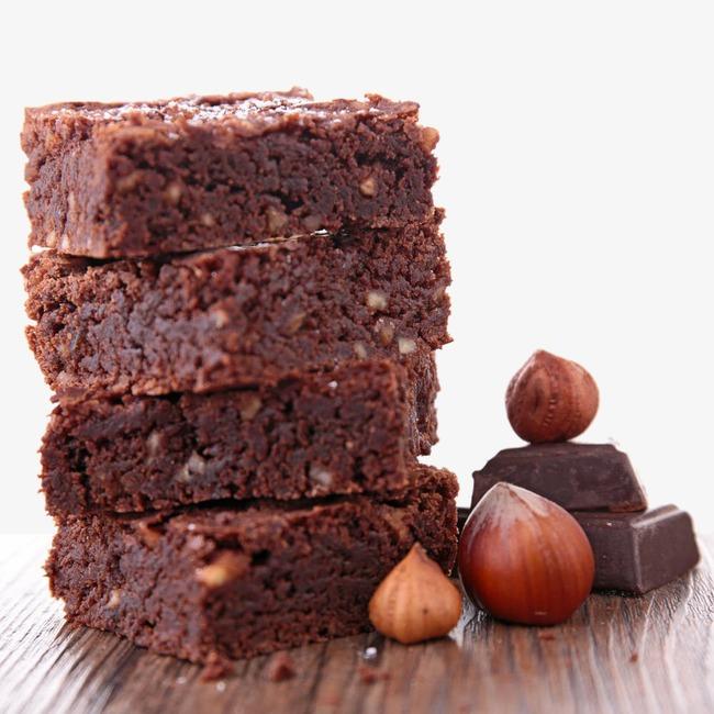 Dark sweets png image. Brownie clipart chocolate brownie