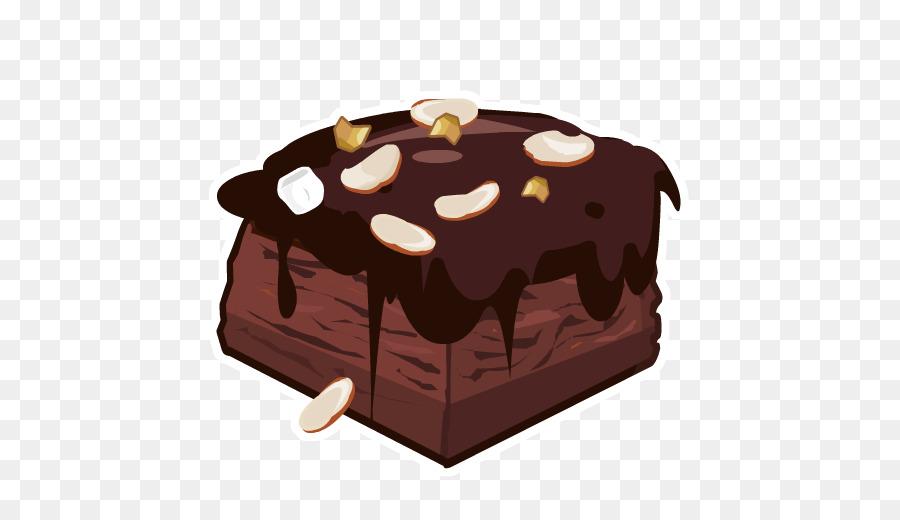 Cake fudge clip art. Brownie clipart chocolate brownie