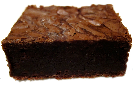 Brownie clipart chocolate slice. The lone baker journal