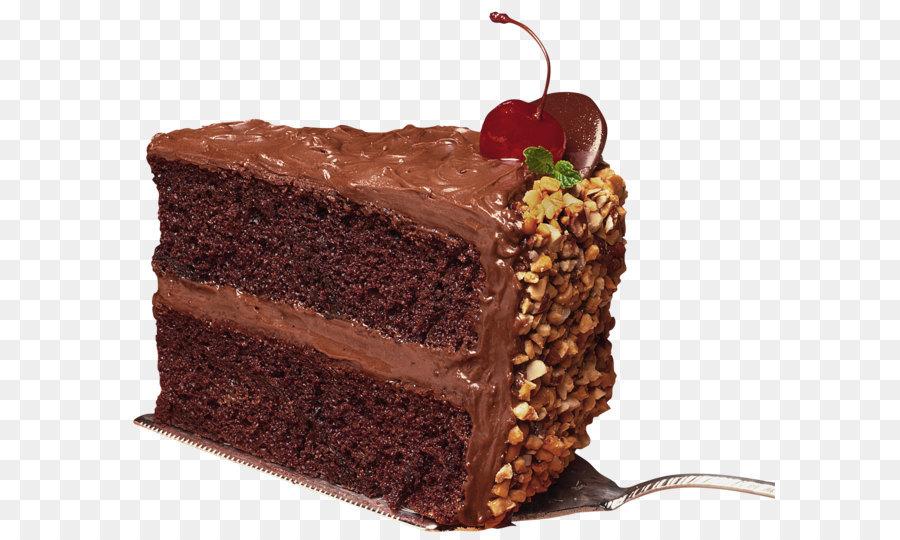 German cake red velvet. Brownie clipart chocolate slice