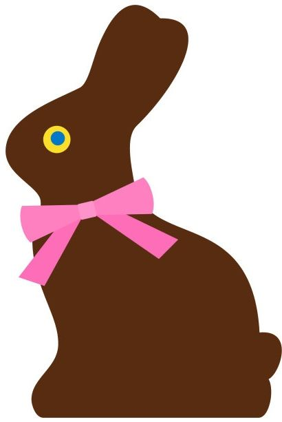 Brownies clipart easter chocolate.  best bunnies images