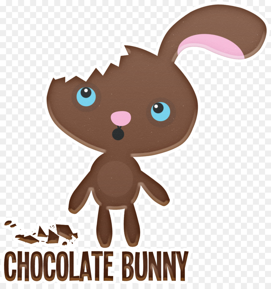 Brownie clipart easter chocolate. Bunny truffle hare cake