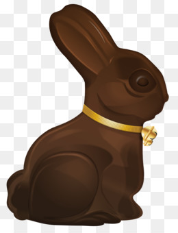 Bunny rabbit hare clip. Brownie clipart easter chocolate