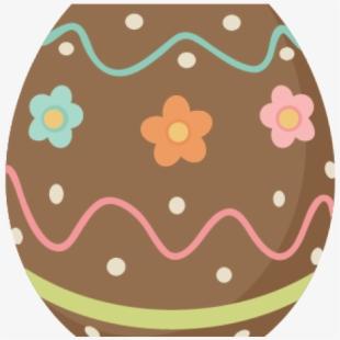 Brownie cute eggs . Brownies clipart easter chocolate