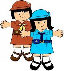 best clip art. Brownie clipart girl guides