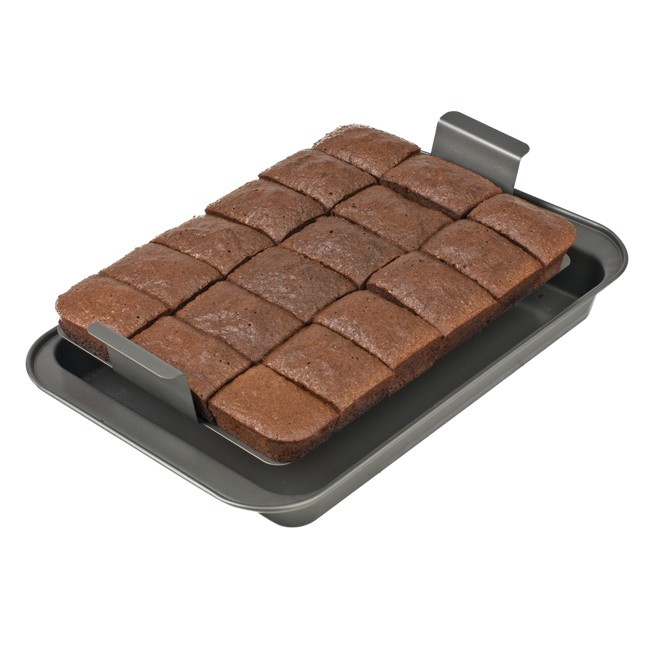 Brownie clipart pan brownie. Chicago metallic slice solutions