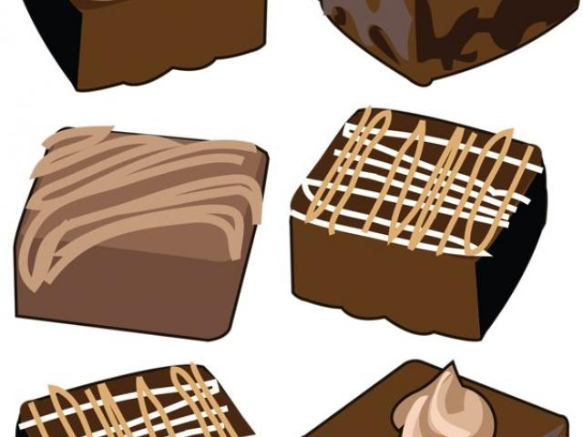 Brownie clipart square chocolate. Biscuit free on dumielauxepices