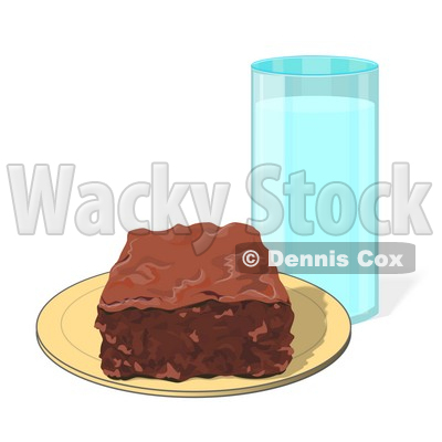 Panda free images. Brownie clipart square chocolate