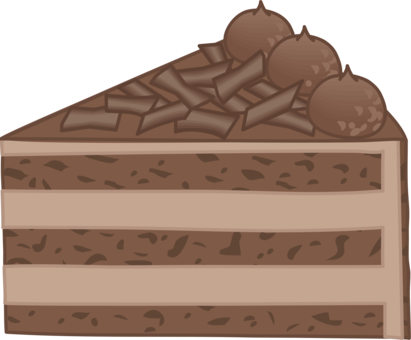 Free download clip . Brownie clipart square chocolate
