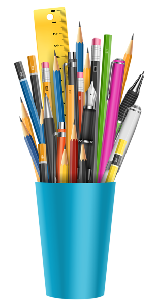Png picture clip art. Crayons clipart pencil cup