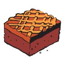 Food clip art gallery. Brownies clipart