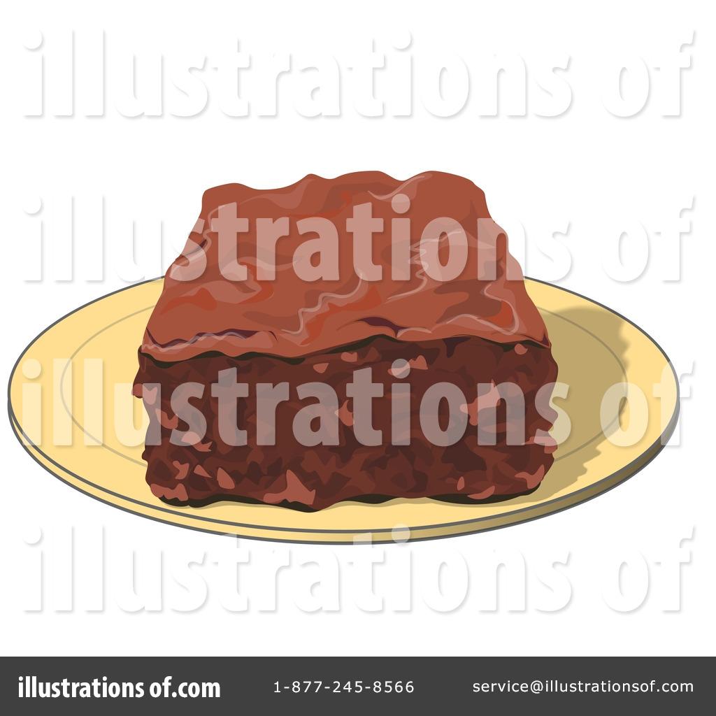 Brownie clipart clip art. Illustration by djart royaltyfree