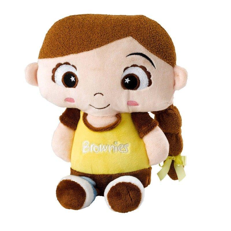 Bear ideal gift uniform. Brownies clipart face