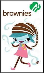 best girl scout. Brownies clipart face