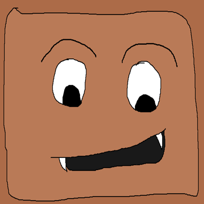 Evil brownie roblox . Brownies clipart face